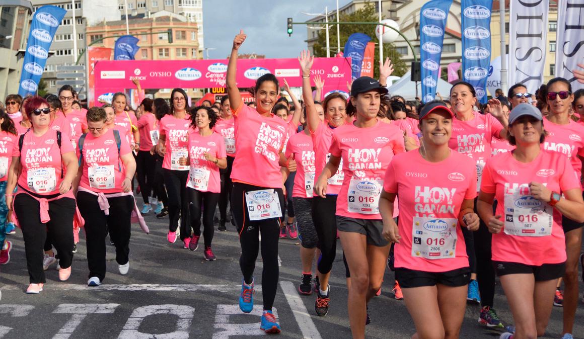 Las mejores fotos de la Carrera de la Mujer de A Coruña, ¡descárgatelas gratis!