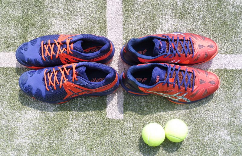 Así son las nuevas zapatillas de Lima y Belasteguín