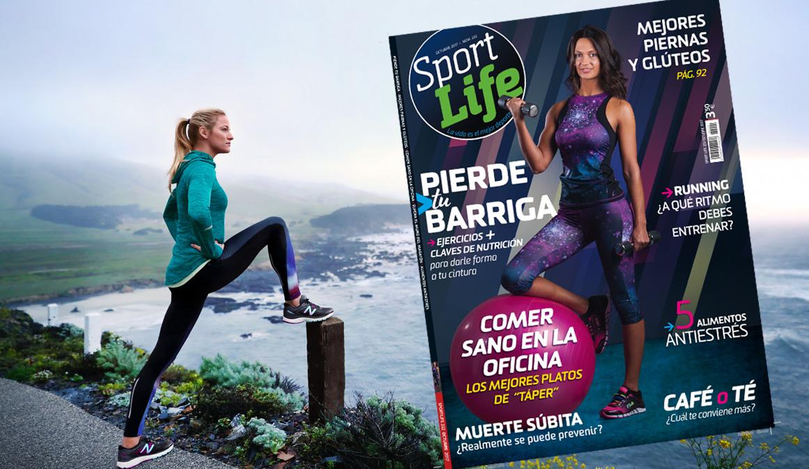 Despídete de tu barriga con el plan de ejercicios y  nutrición de Sport Life octubre