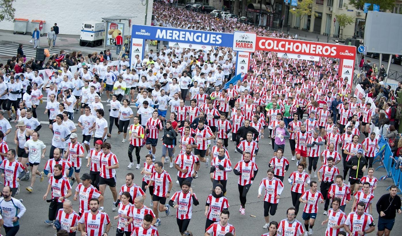 Atlético contra Real Madrid en zapatillas