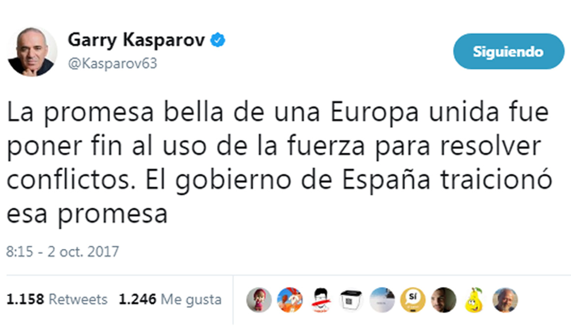 Así han vivido los deportistas el referéndum catalán del 1 de octubre