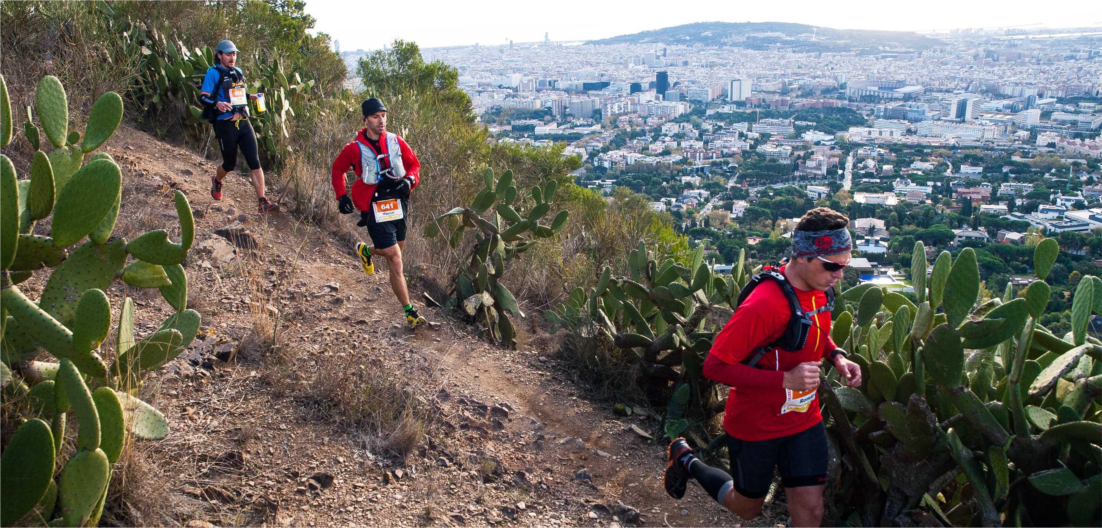 La carrera de montaña que nace en la ciudad de Barcelona