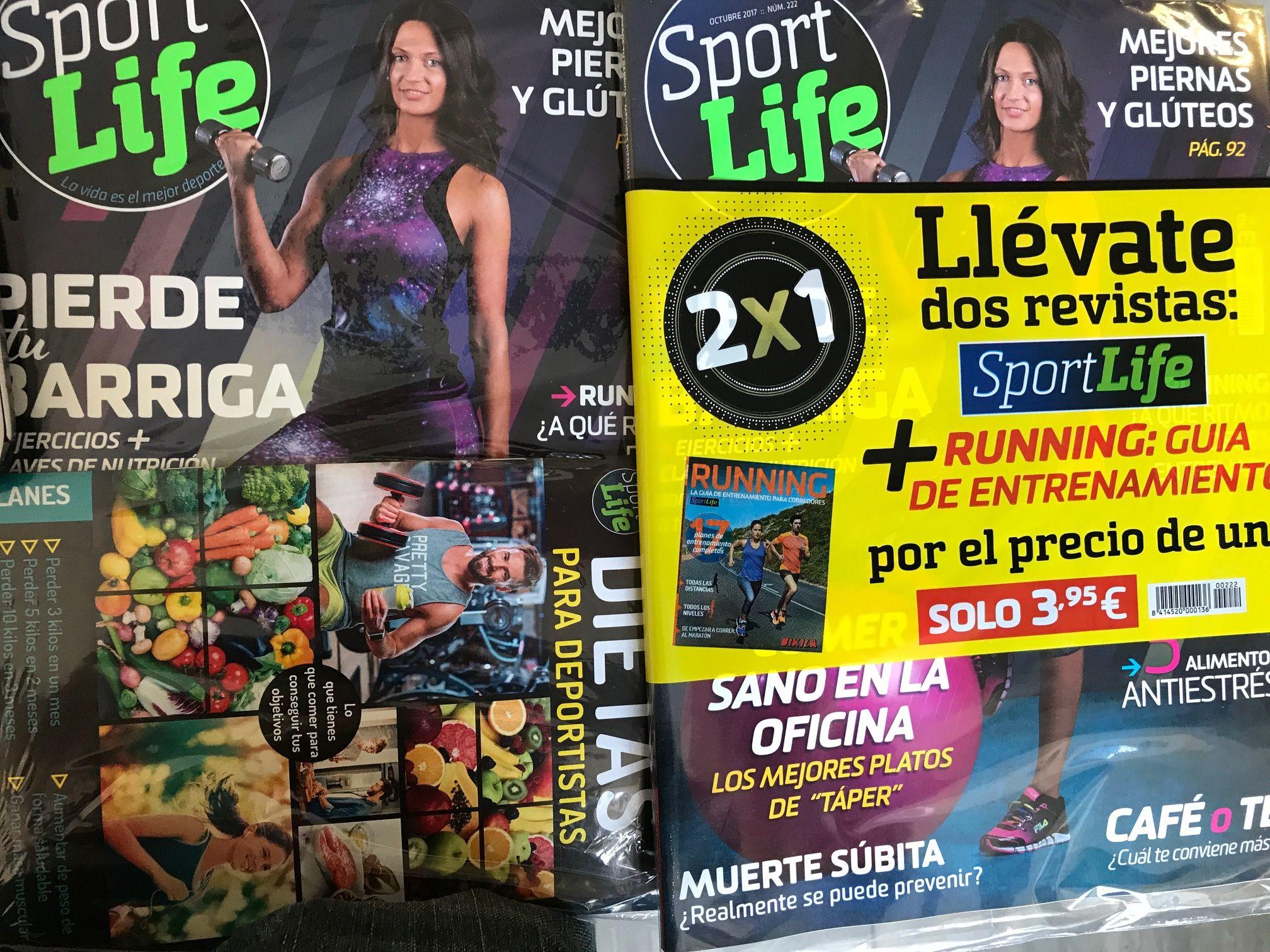 ¡No te pierdas la oferta de este mes de Sport Life en el kiosco!