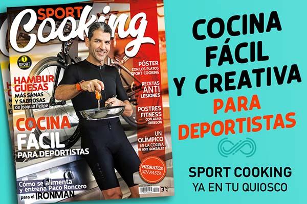 Nace Sport Cooking, la revista de cocina para deportistas