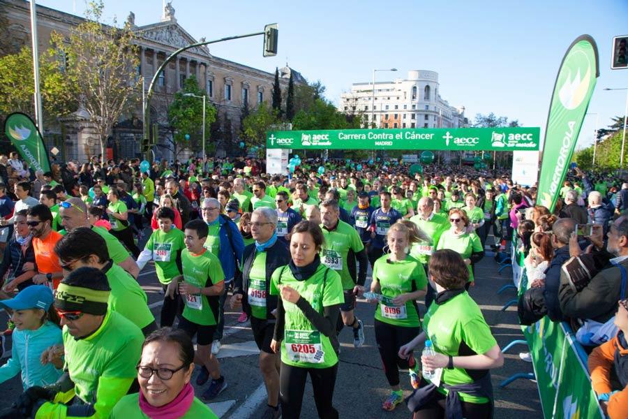 Barcelona estrena su carrera contra el cáncer