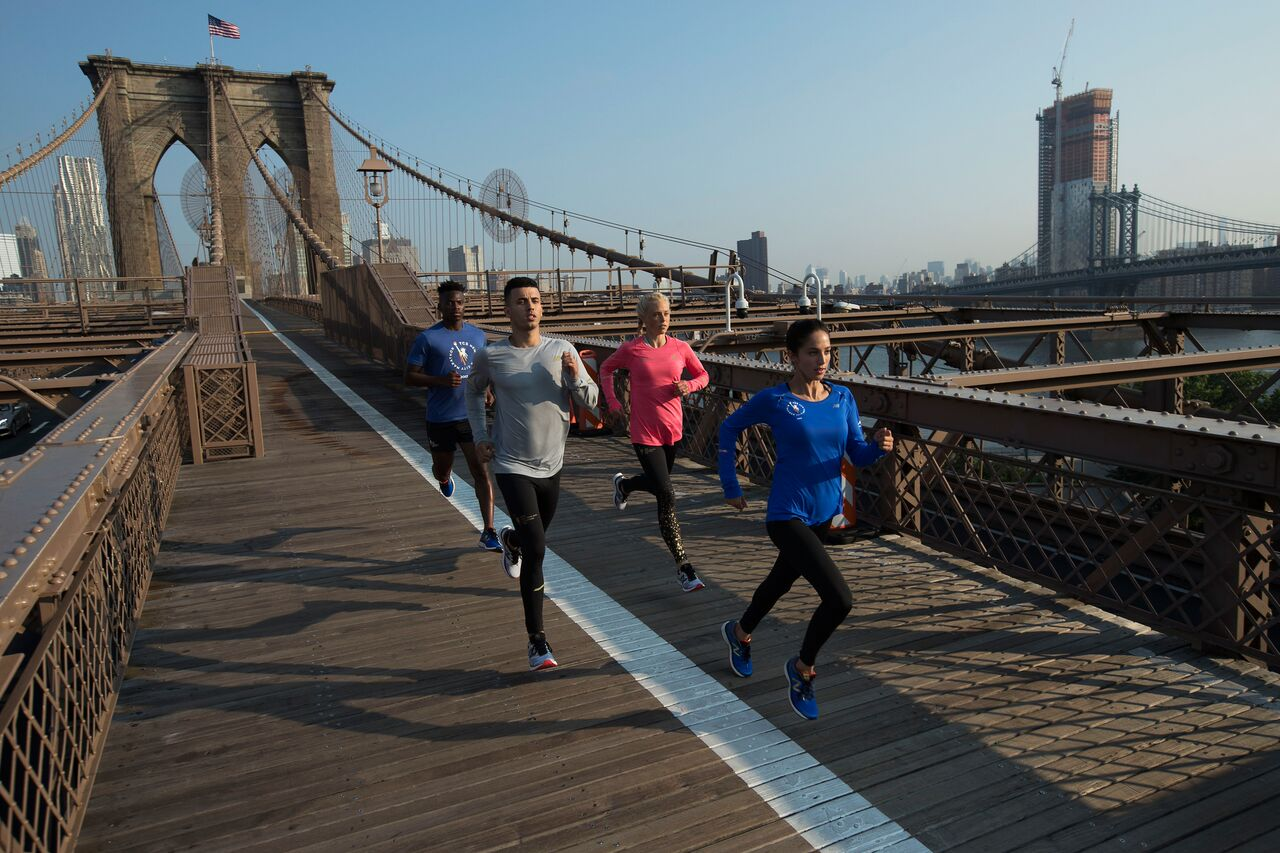 La colección de New Balance exclusiva del Maratón de Nueva York