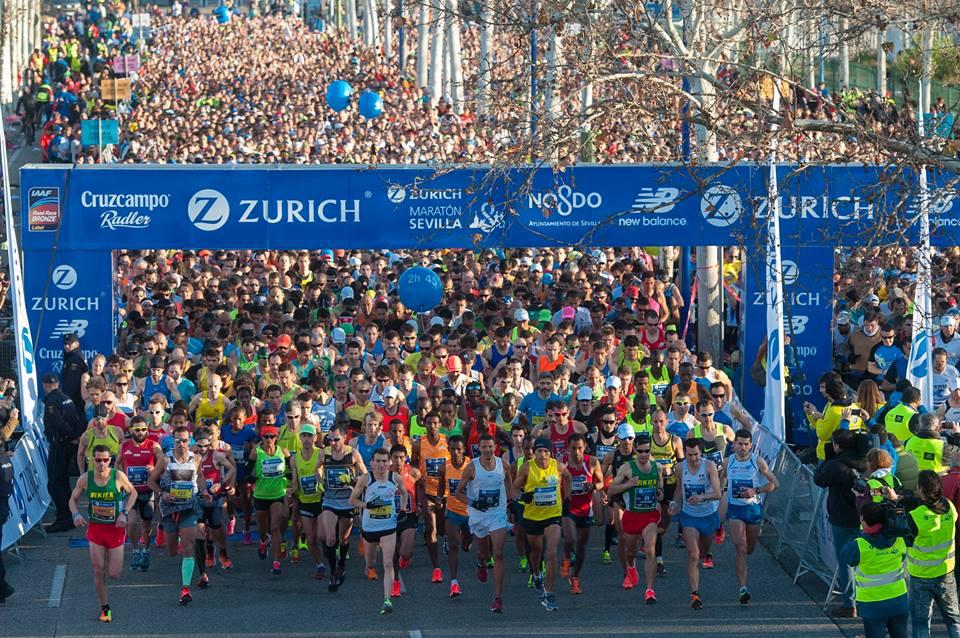 Consigue gratis con New Balance tu dorsal para el Zurich Maratón de Sevilla