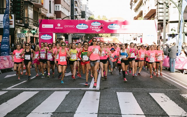 Raquel Miró gana la Carrera de la Mujer de Zaragoza