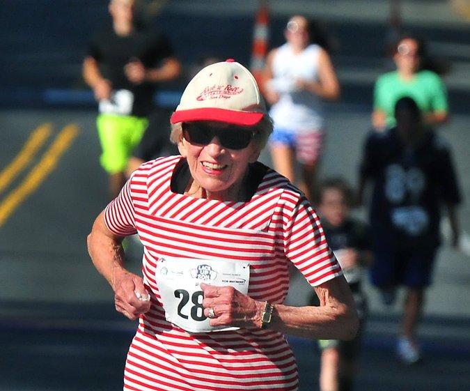 Ha muerto Harriette Thompson, la mujer más mayor finisher de un maratón