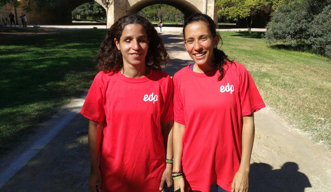 El gran ejemplo de dos corredoras: Ana Lucía y María José