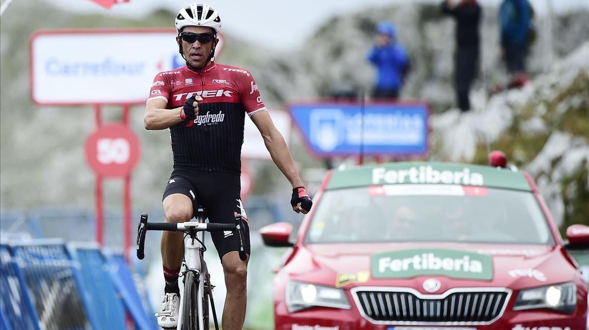 """Entrevista Alberto Contador: """"ha sido el adiós perfecto"""""""
