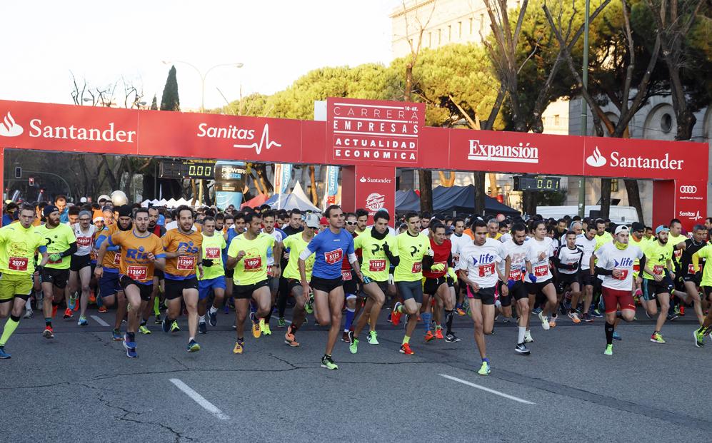 La Carrera de las Empresas de Madrid