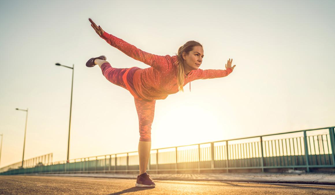 Cómo mejorar el equilibrio y por qué es tan importante para el deportista