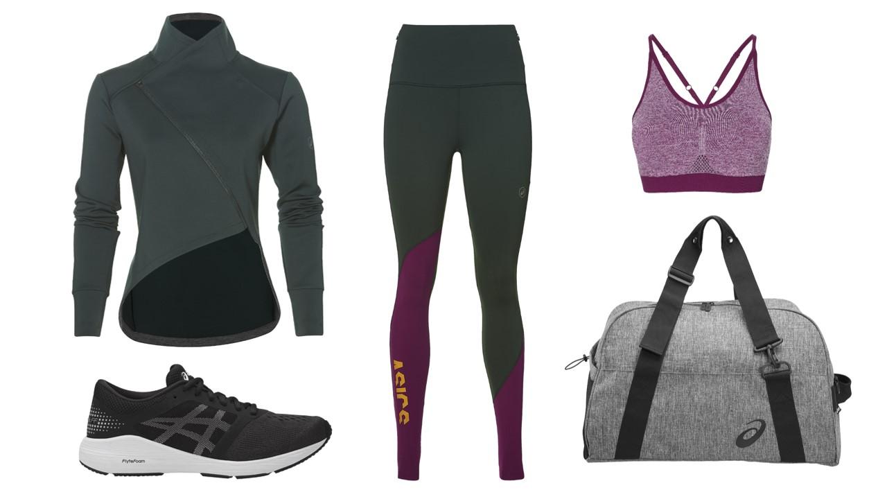 EL nuevo outfit de asics para las corredoras