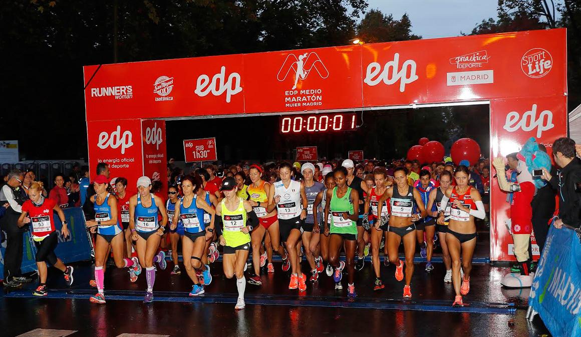 2.500 mujeres corrieron el EDP Medio Maratón de la Mujer y la carrera de 3km contra la mutilación genital femenina