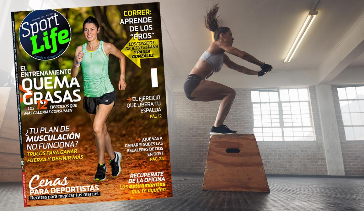 Los 12 ejercicios que más calorías consumen con Sport Life noviembre