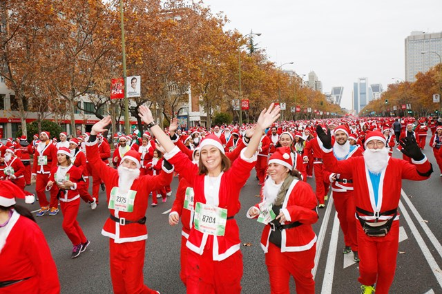 La carrera de Papa Noel de Madrid ya tiene fecha