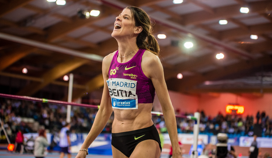 """Entrevista a Ruth Beitia: """"El atletismo ha sido un sueño y tocaba despertar"""""""