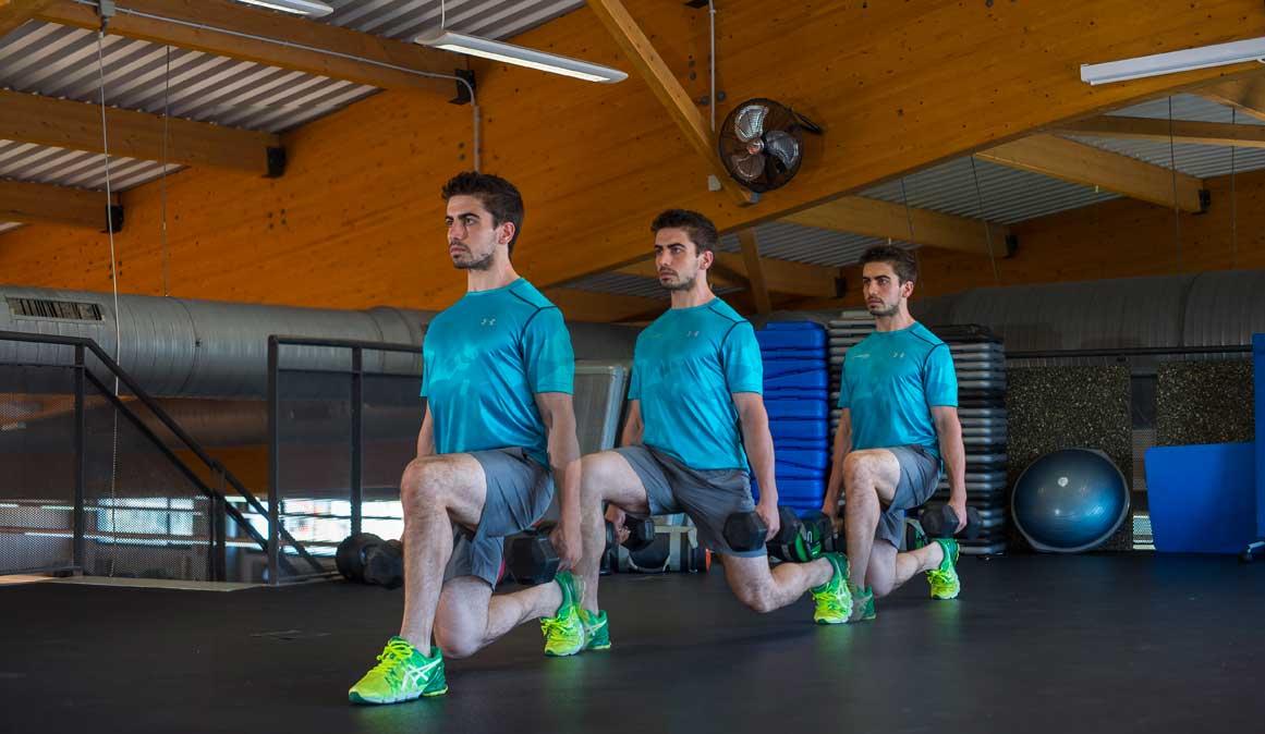 Los mejores ejercicios de zancada: tonifica piernas, glúteos y gana rendimiento