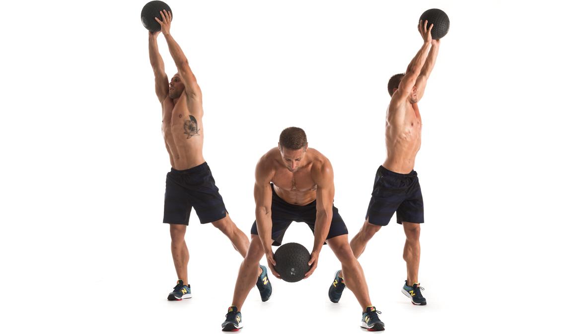 El circuito para entrenar con un slamball, ¡aprende a utilizarla!