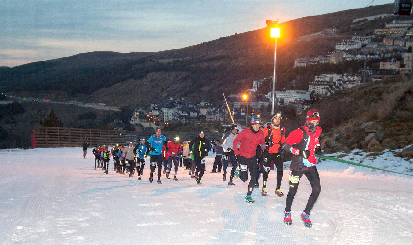 La carrera nocturna y en nieve de Sierra Nevada
