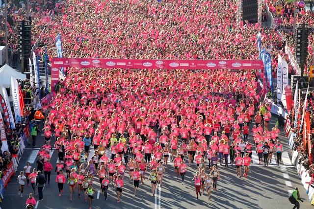 Janeth Becerra gana la Carrera de la Mujer por delante de 31.000 chicas