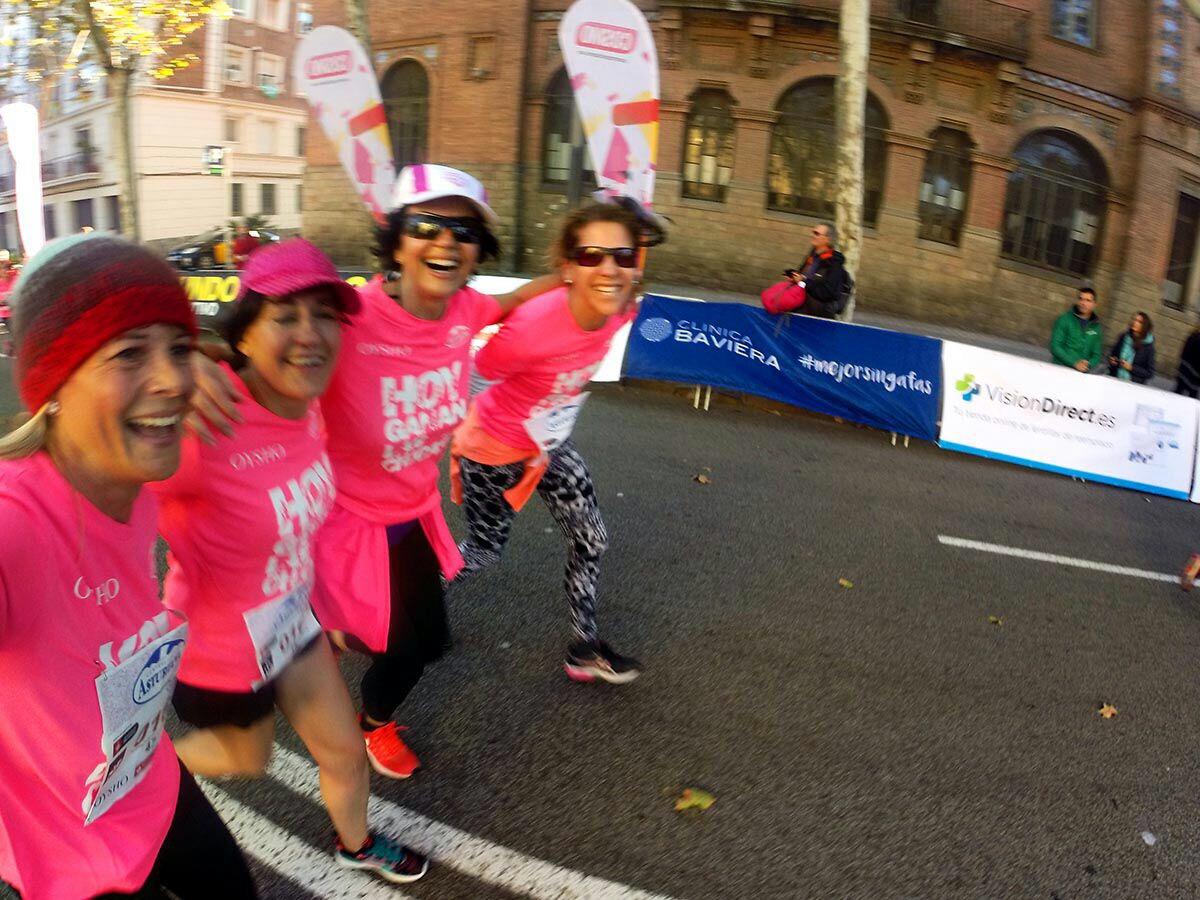 Así vivimos la Carrera de la Mujer de Barcelona 2017