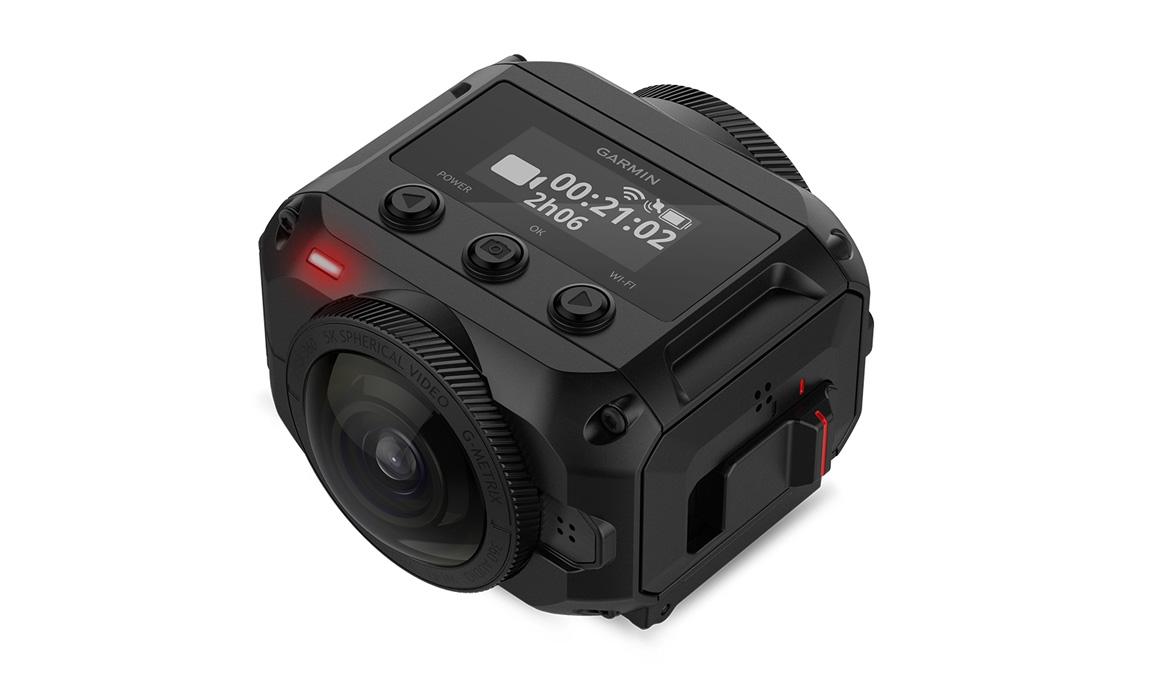 La cámara de acción que todo lo ve: así es Garmin Virb 360