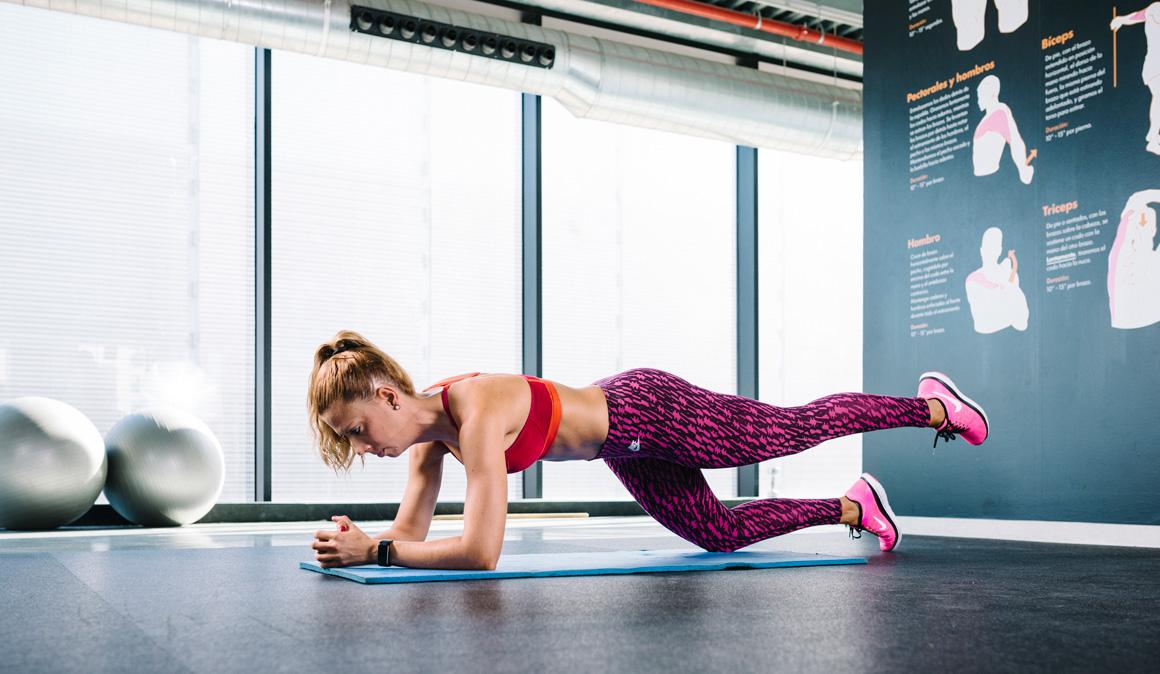 7 ejercicios de plancha prono para unos abdominales de hierro
