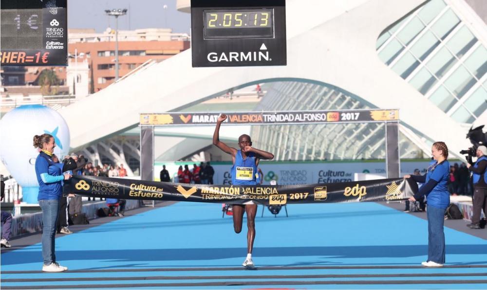 Nuevo récord en el Maratón de Valencia