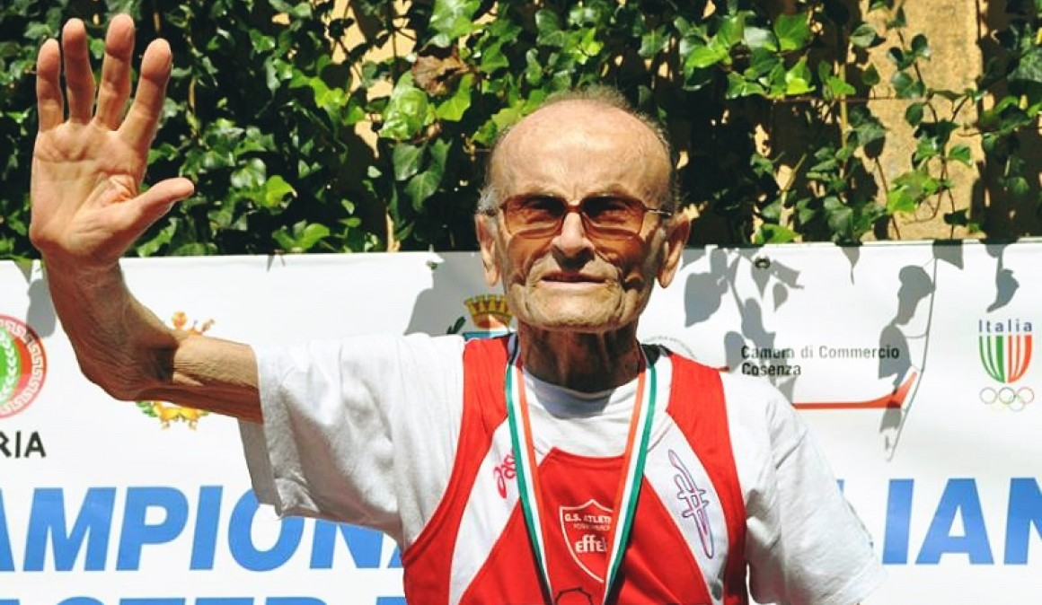 El corredor de 101 años