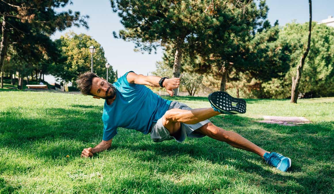 Abdominales y core fuerte para correr más kilómetros