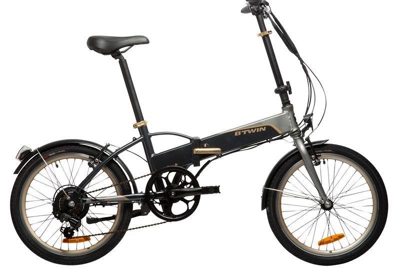 La bici eléctrica plegable de Decathlon