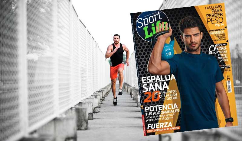 Reta a tus abdominales con el nuevo número Sport Life diciembre