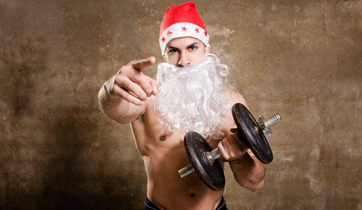 Plan de ejercicio para ponerte en forma ANTES de Navidad
