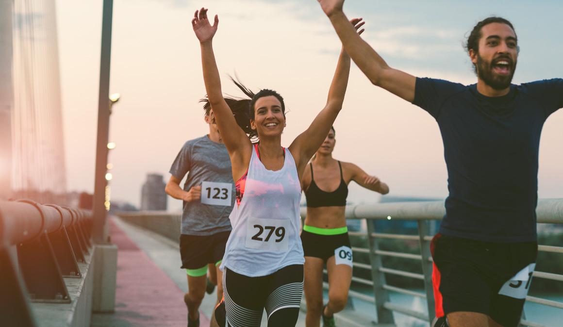Cuándo y cómo comer y beber después de un maratón