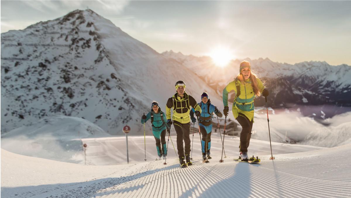 La mejor equipación para esquiar