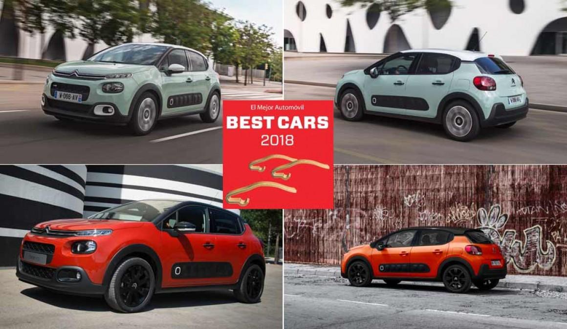 Arranca Best Cars 2018: elige el mejor coche y gana un Citroën C3