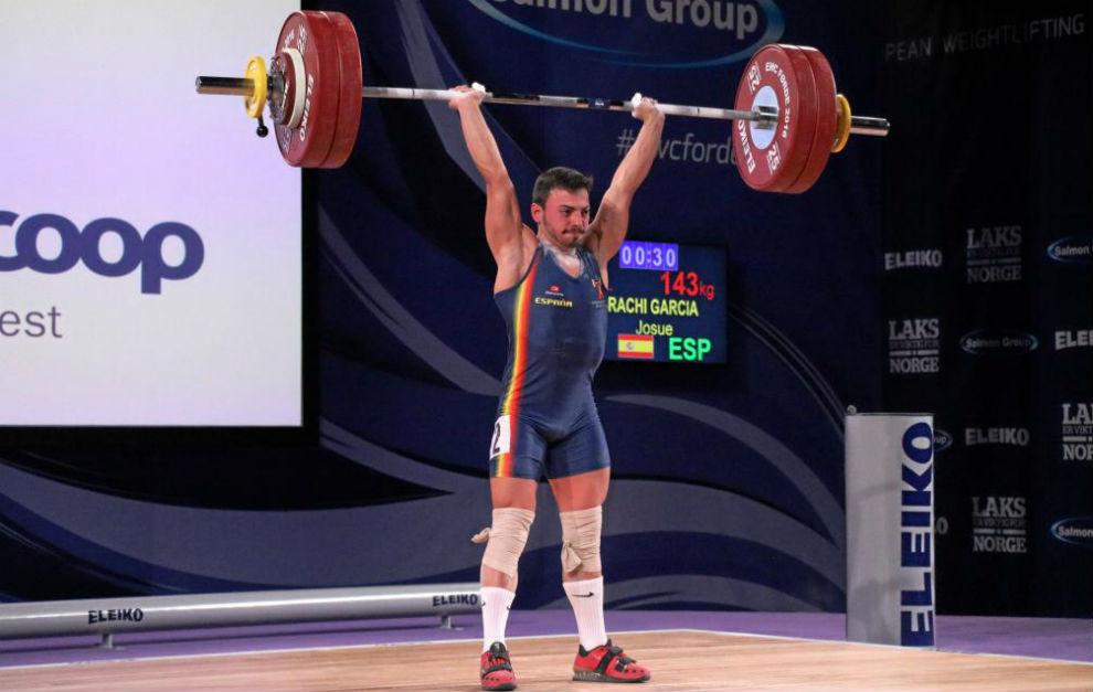 La histórica medalla en el Mundial de halterofilia de Josué Brachi