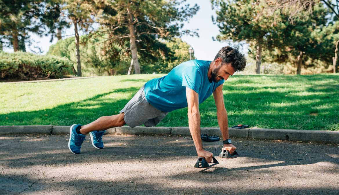 Los ejercicios para fortalecer abdominales y correr más y mejor