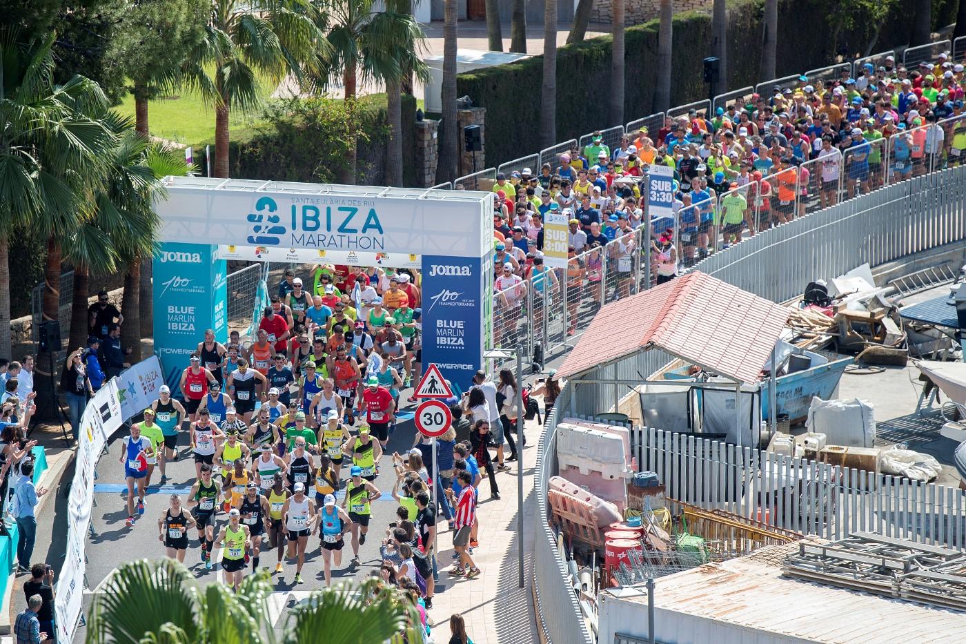 EL maratón de Ibiza