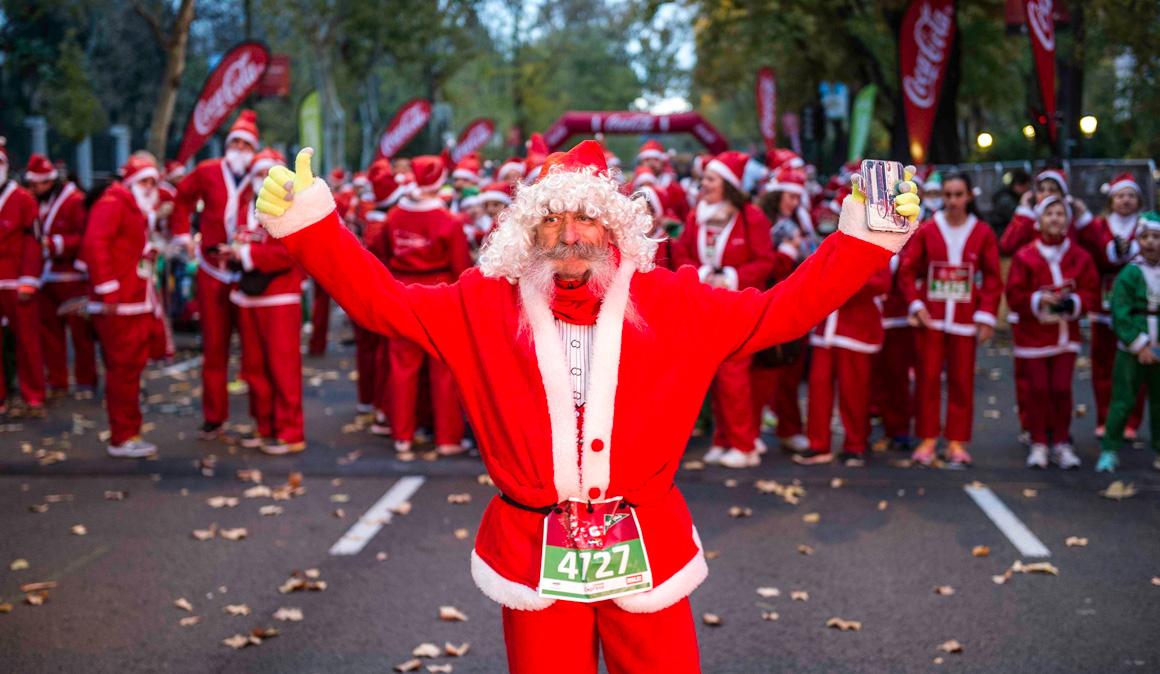 Las mejores imágenes de la Carrera de Papá Noel, ¡descárgatelas gratis!