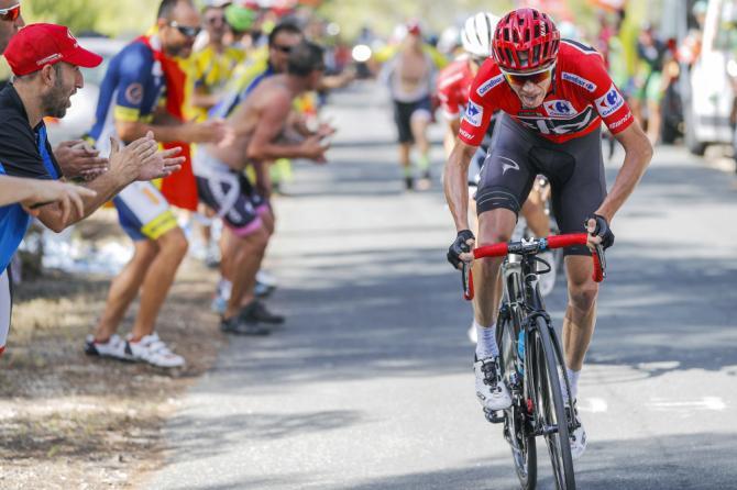 Chris Froome, positivo en la Vuelta a España