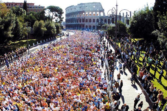 Todos los caminos te llevan al maratón de Roma