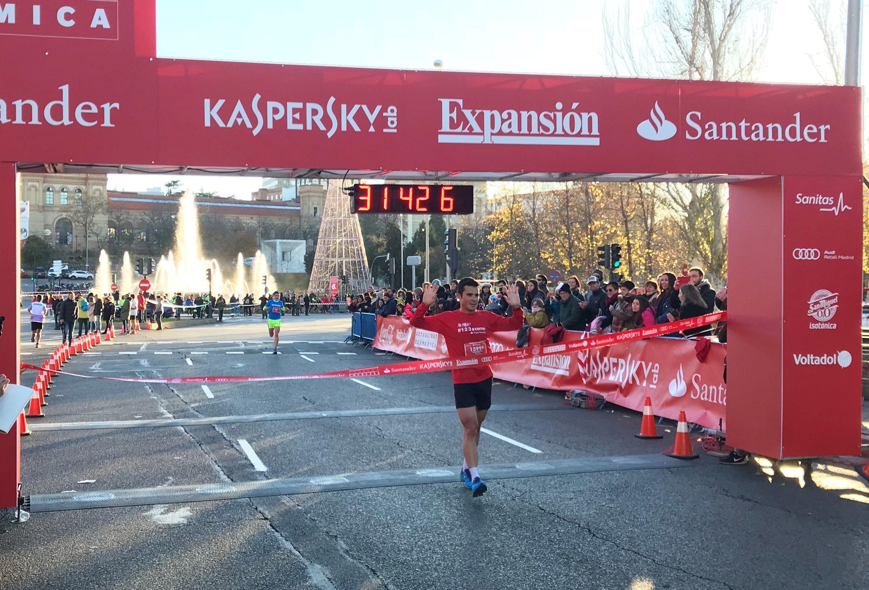 Gómez Noya gana la Carrera de las Empresas de Madrid