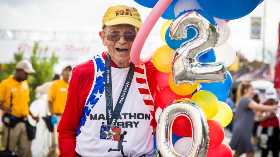 EL hombre que ha corrido 2000 maratones
