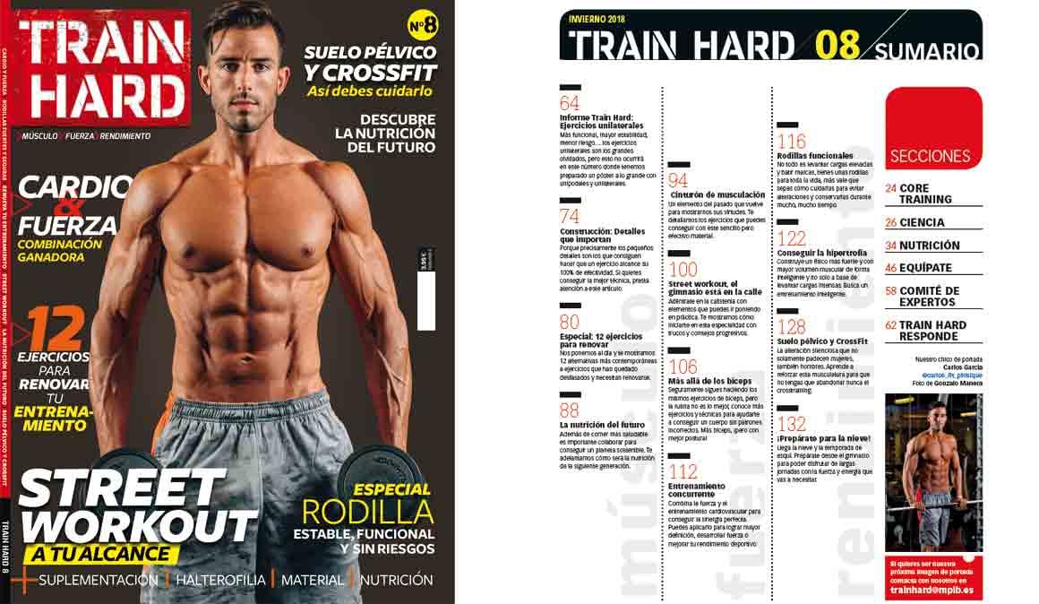 Ya está a la venta Train Hard nº8, la revista que motivará tus entrenos invernales