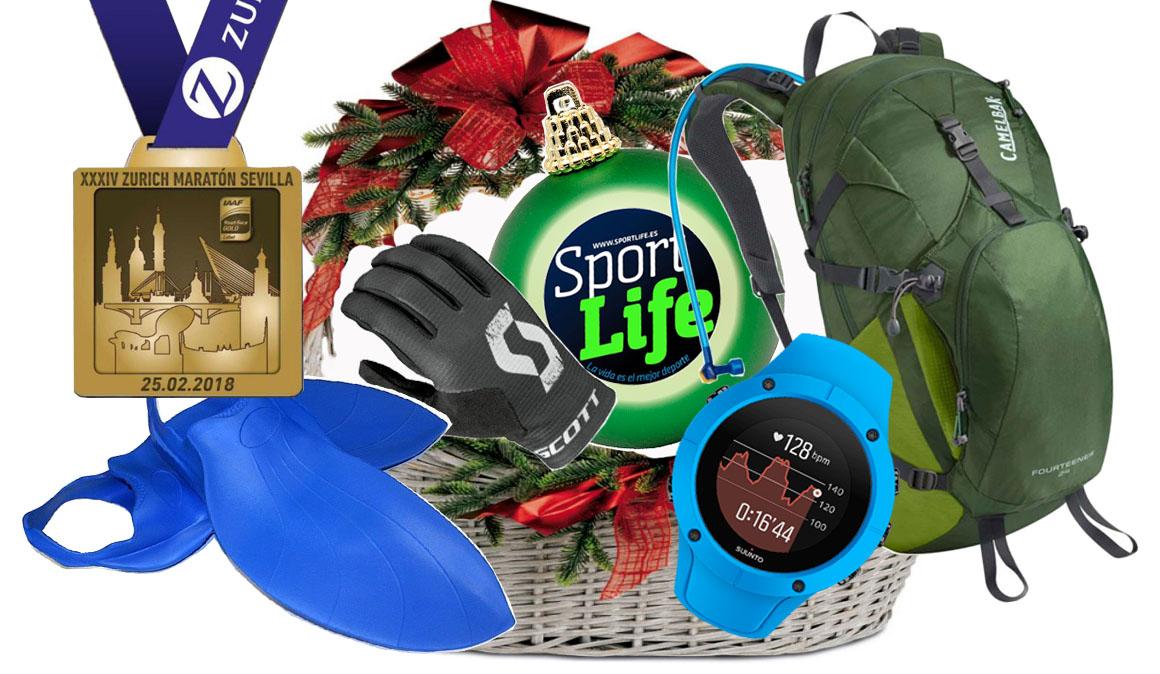 ¡Gana la cesta de Navidad de Sport Life!