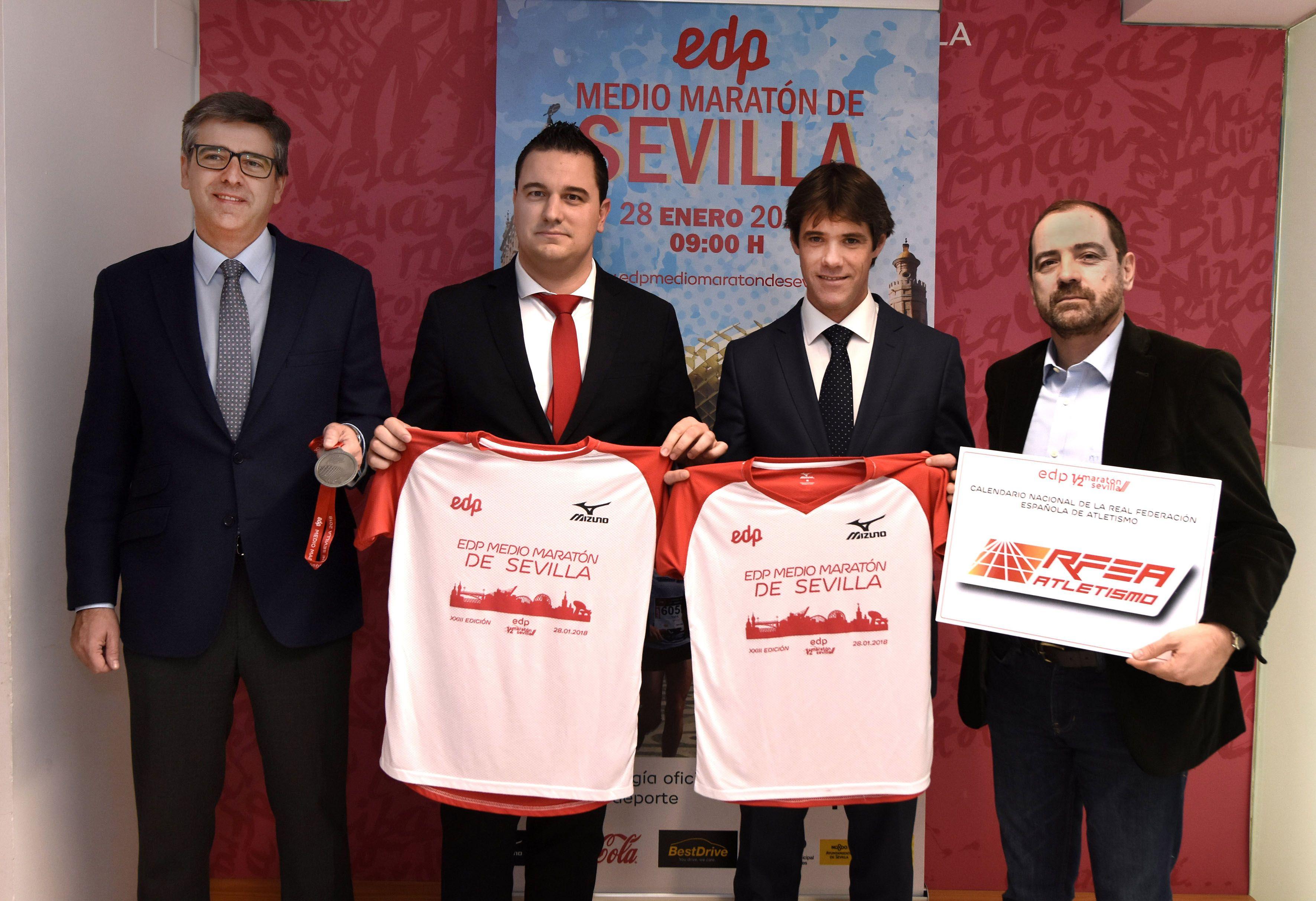 Presentado el EDP Medio Maratón de Sevilla