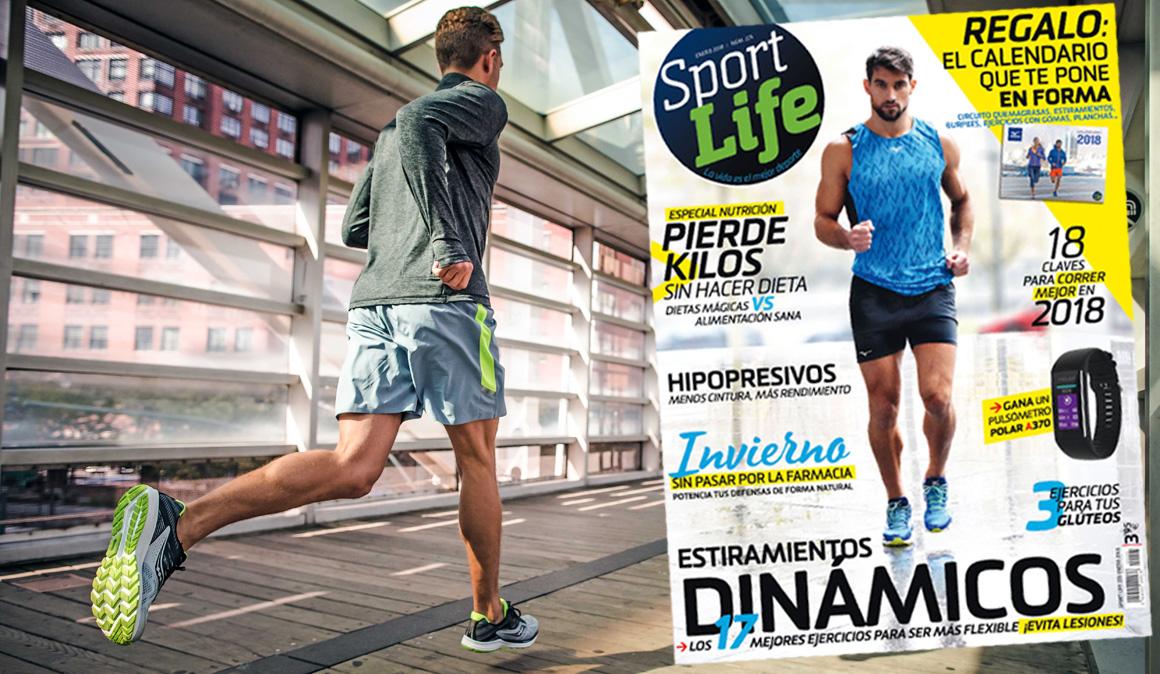 El calendario que te pone en forma con el número de enero de Sport Life
